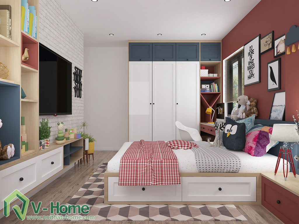 thiet-ke-phong-ngu-chung-cu-him-lam-6 Thiết kế nội thất chung cư Him Lam Riverside - C. Oanh