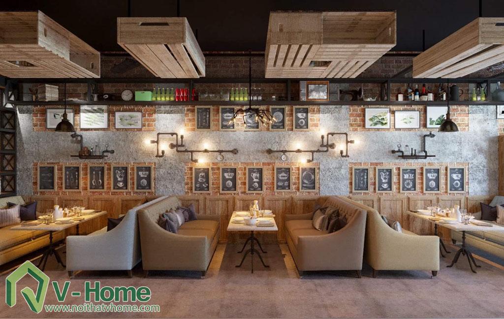 thiet-ke-vietface-restaurant-1 Thiết kế không gian VietFace Restaurant