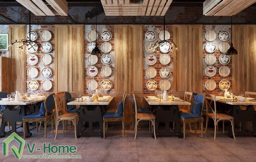 thiet-ke-vietface-restaurant-3 Thiết kế không gian VietFace Restaurant