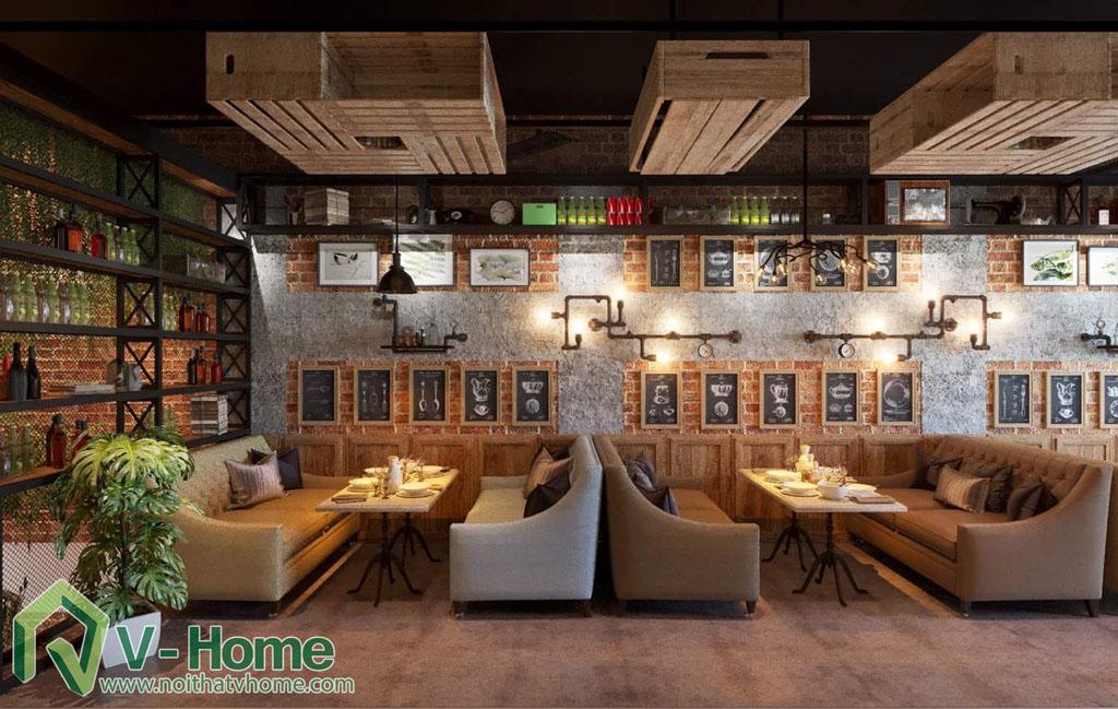 thiet-ke-vietface-restaurant-4 Thiết kế không gian VietFace Restaurant