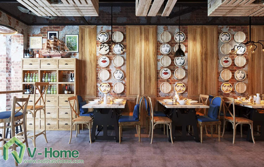 thiet-ke-vietface-restaurant-5 Thiết kế không gian VietFace Restaurant