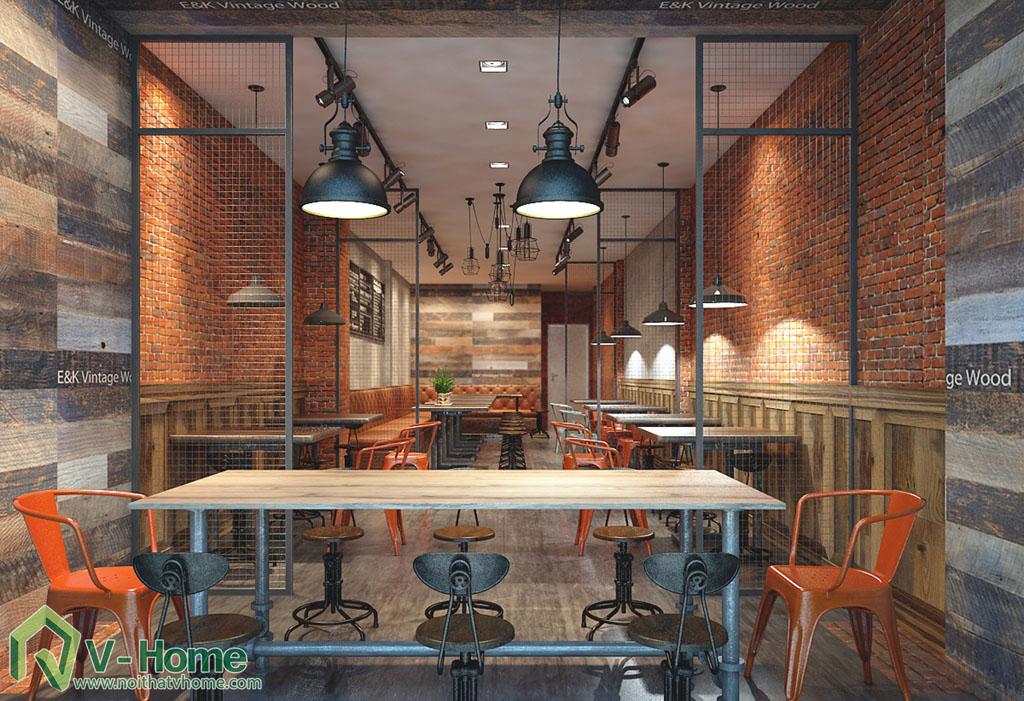 thiet-ke-yoyo-coffe-4 Thiết kế không gian YoYo Coffee