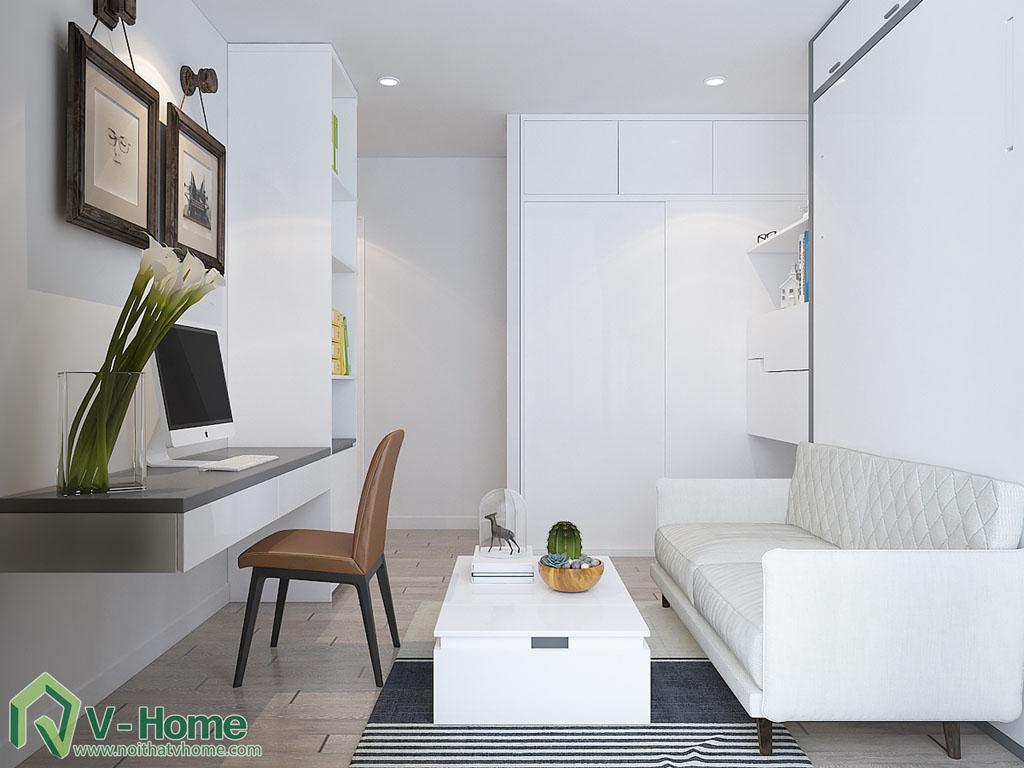 thiet-ke-chung-cu-officetel-ba-son-2 Thiết kế nội thất chung cư Vinhomes Ba Son
