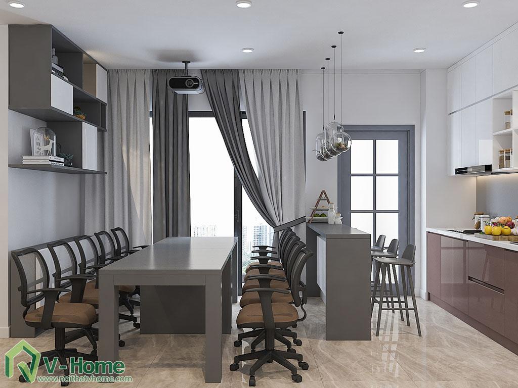 thiet-ke-chung-cu-officetel-ba-son-7 Thiết kế nội thất chung cư Vinhomes Ba Son