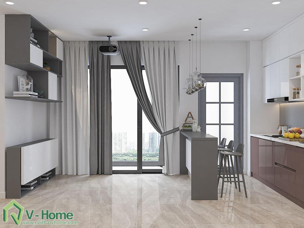 thiet-ke-chung-cu-officetel-ba-son-8 Thiết kế nội thất chung cư Vinhomes Ba Son