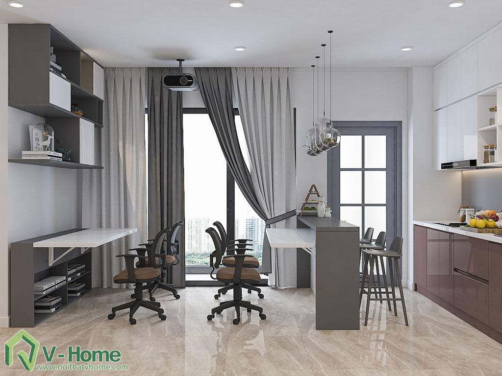 thiet-ke-chung-cu-officetel-ba-son-9 Thiết kế nội thất chung cư Vinhomes Ba Son