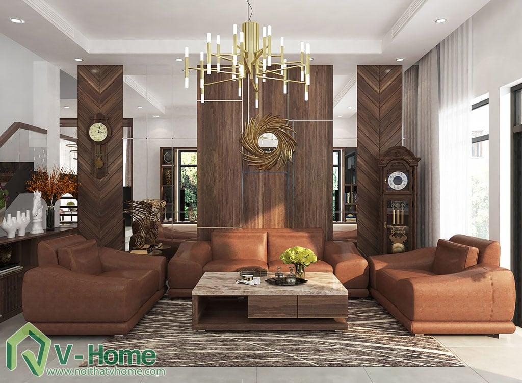 3.thiet-ke-biet-thu-trang-an-complex-khach-bep-4 [Kiến thức] Đặc trưng của phong cách hiện đại trong thiết kế nội thất