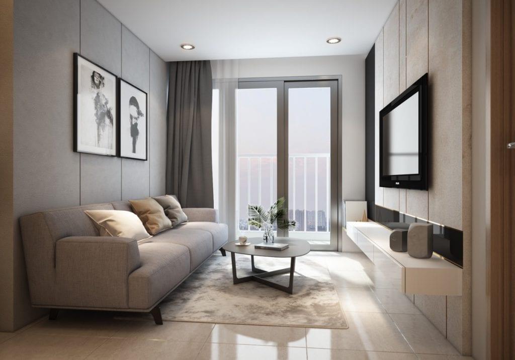 Floating-console-unit-1024x717 Phong cách nội thất hiện đại trong thiết kế nhà ở hiện nay