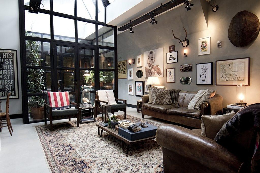Vintage-livingroom-1024-1024x683 [Tư vấn] Ý tưởng thiết kế nội thất phòng khách đẹp
