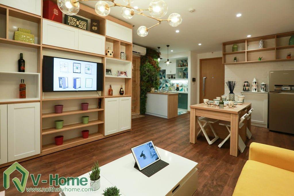 thi-cong-noi-that-chung-cu-verde-1-1024x683 [Kiến thức] Đặc trưng của phong cách hiện đại trong thiết kế nội thất