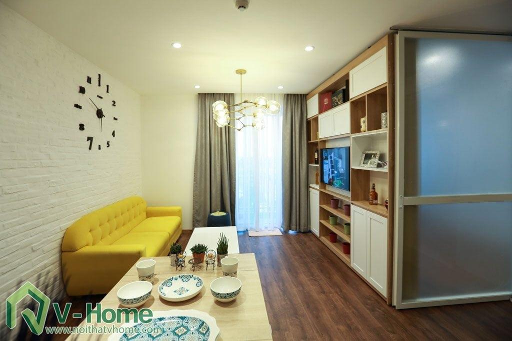 thi-cong-noi-that-chung-cu-verde-13-1024x683 [Kiến thức] Đặc trưng của phong cách hiện đại trong thiết kế nội thất