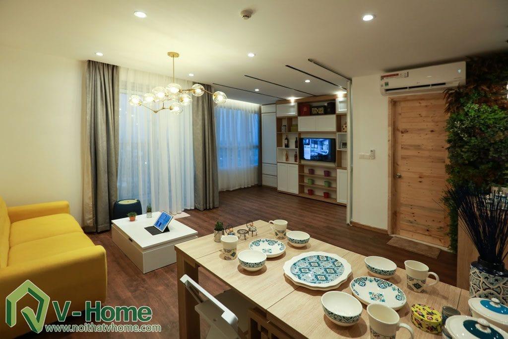 thi-cong-noi-that-chung-cu-verde-7-1024x683 [Kiến thức] Đặc trưng của phong cách hiện đại trong thiết kế nội thất