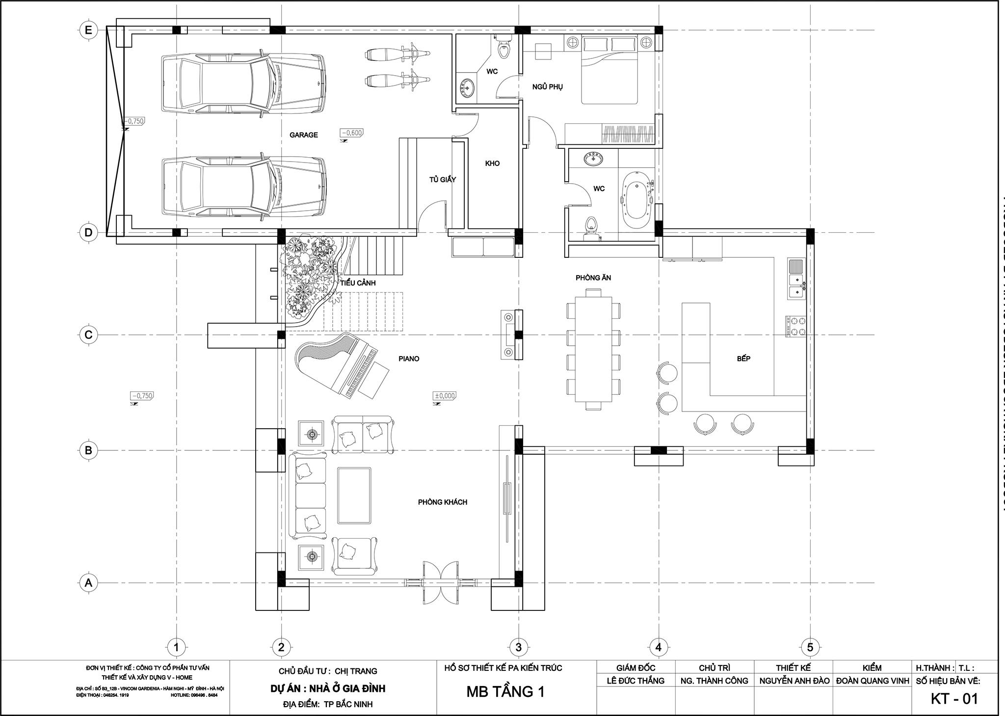 thiet-ke-biet-thu-hien-dai-4-1 Thiết kế Biệt thự hiện đại tại Vĩnh Phúc - C. Huyền