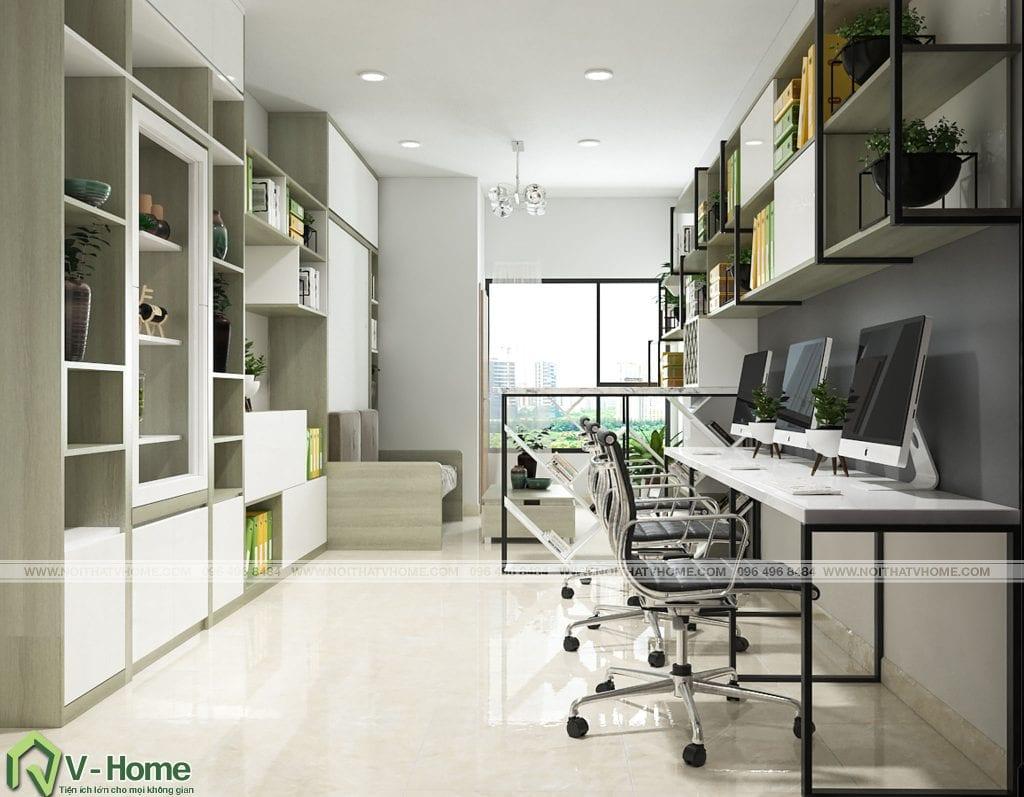 thiet-ke-chung-cu-office-tel-river-gate-2-1024x797 Thiết kế nội thất căn hộ Officetel River Gate - Mr Nhân