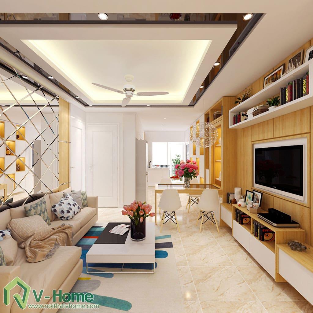 thiet-ke-noi-that-chung-cu-gemek-1 [Kiến thức] Đặc trưng của phong cách hiện đại trong thiết kế nội thất