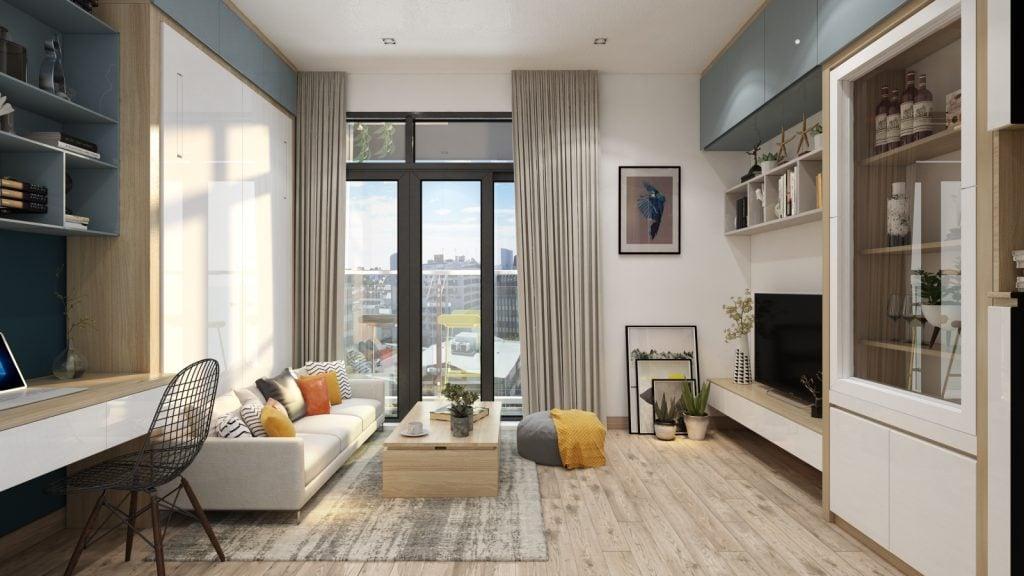 thiet-ke-noi-that-officetel-studio-green-bay-me-tri-1-1024x576 Phong cách nội thất hiện đại trong thiết kế nhà ở hiện nay