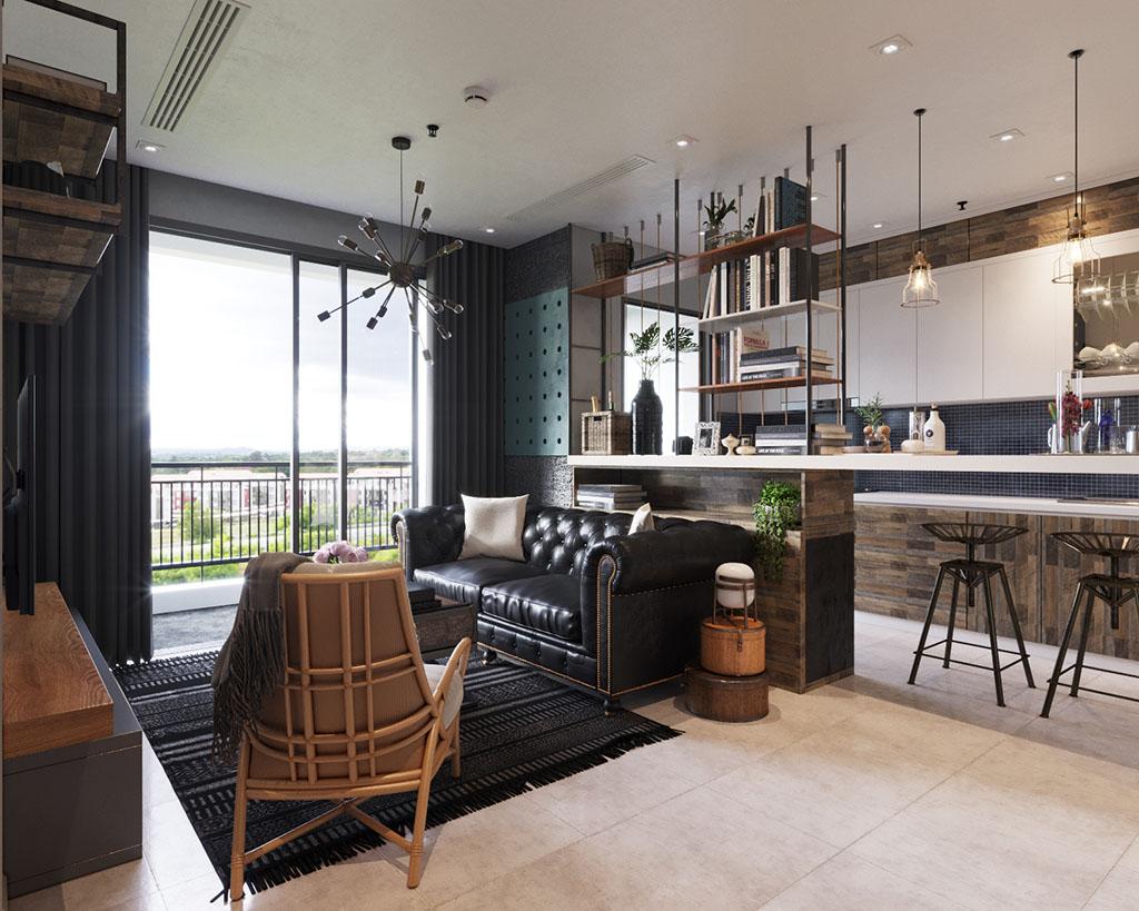 thiet-ke-noi-that-vinhomes-central-park-3 [Tư vấn] Ý tưởng thiết kế nội thất phòng khách đẹp