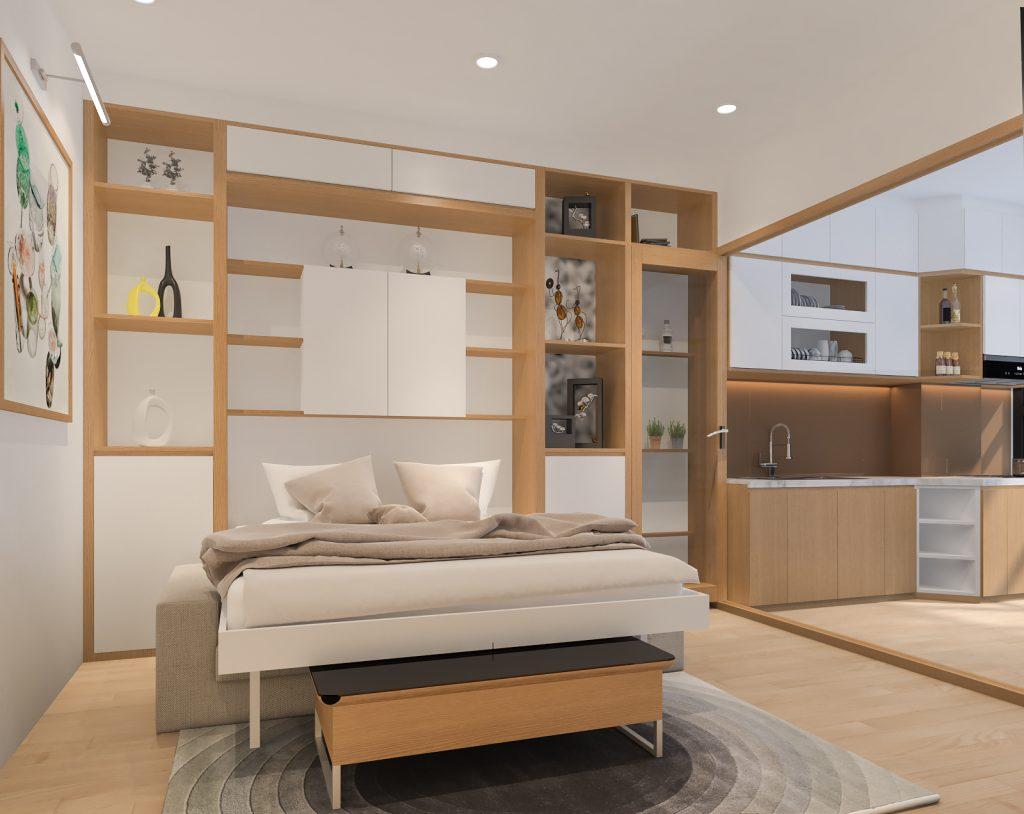thiet-ke-officetel-12-1024x814 Phong cách nội thất hiện đại trong thiết kế nhà ở hiện nay