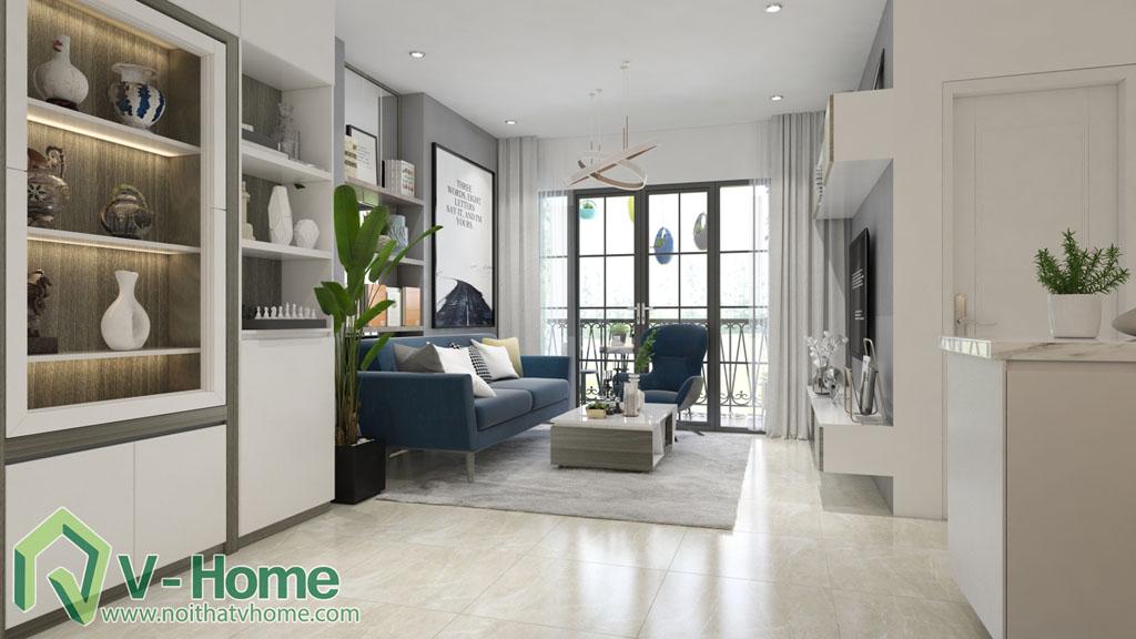 thiet-ke-phong-khach-vinhomes-central-park-1 Thiết kế nội thất chung cư Vinhomes Central Park