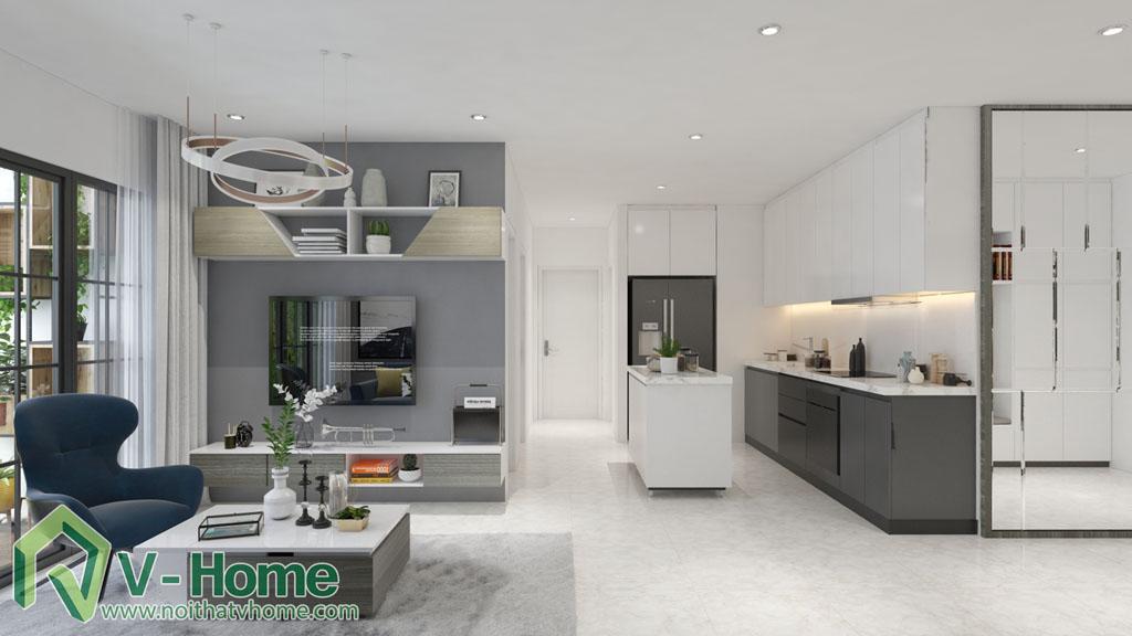 thiet-ke-phong-khach-vinhomes-central-park-5 Thiết kế nội thất chung cư Vinhomes Central Park