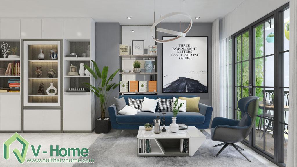 thiet-ke-phong-khach-vinhomes-central-park-6 Thiết kế nội thất chung cư Vinhomes Central Park