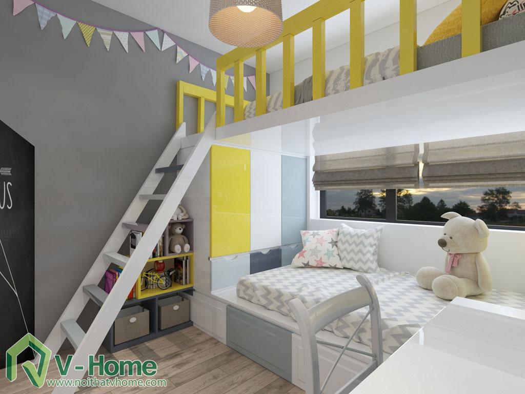 thiet-ke-phong-ngu-vinhomes-central-park-6 Thiết kế nội thất chung cư Vinhomes Central Park