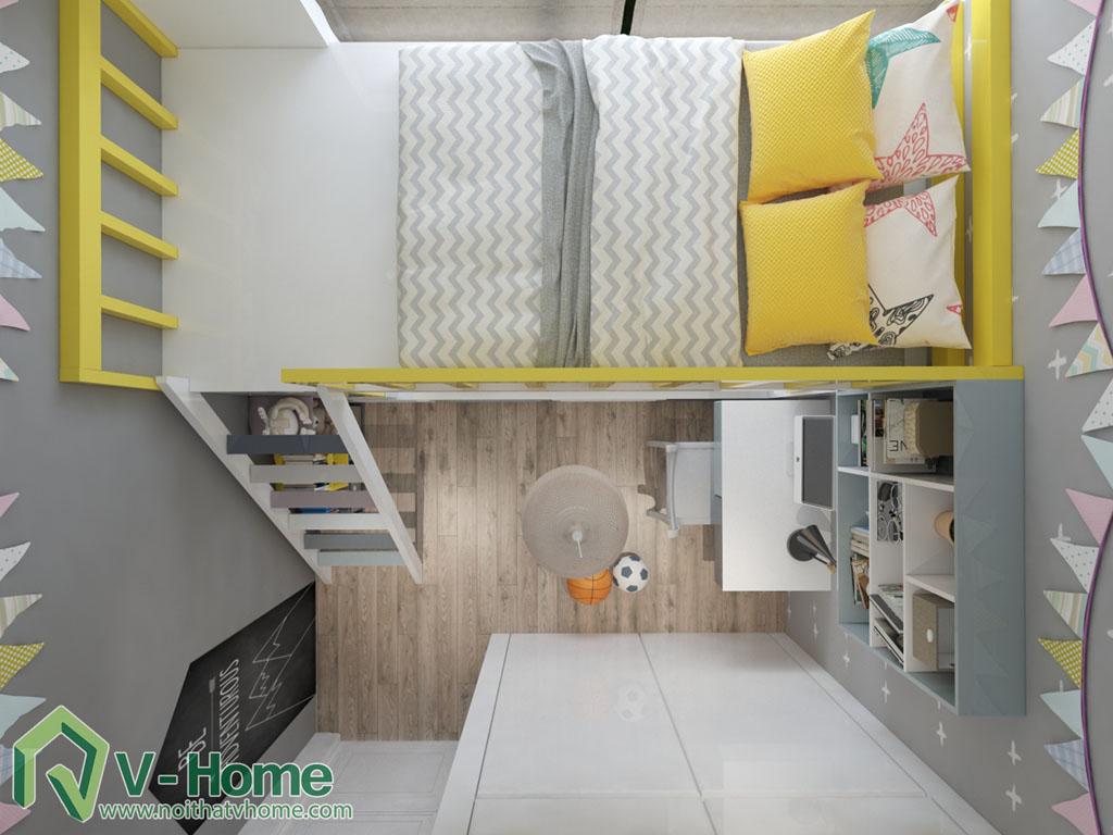 thiet-ke-phong-ngu-vinhomes-central-park-7 Thiết kế nội thất chung cư Vinhomes Central Park