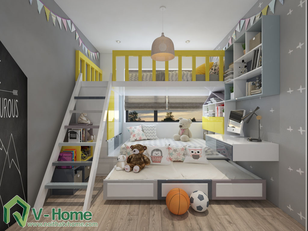 thiet-ke-phong-ngu-vinhomes-central-park-9 Thiết kế nội thất chung cư Vinhomes Central Park