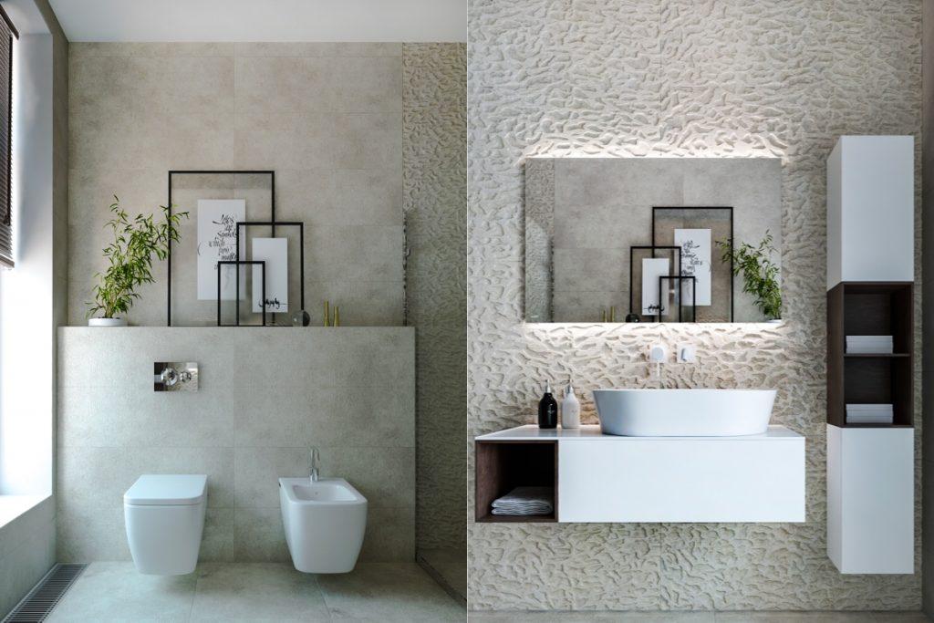 Minimalist-bathroom-decor-ideas-1024x683 Thiết kế nhà vệ sinh nhỏ đẹp cần lưu ý những gì?