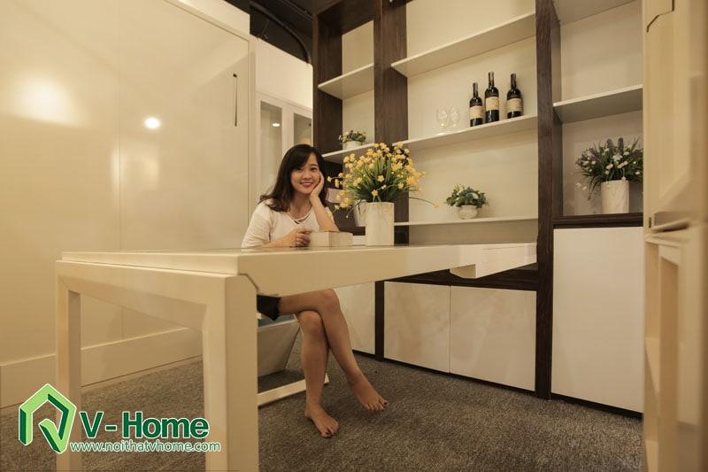 ban-6ghe-4-1 Những mẫu tủ rượu đẹp cho phòng khách sang trọng