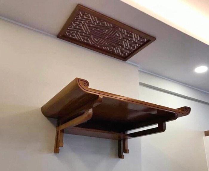 ban-tho-treo-tuong-2 Những điều cần biết về kích thước bàn thờ
