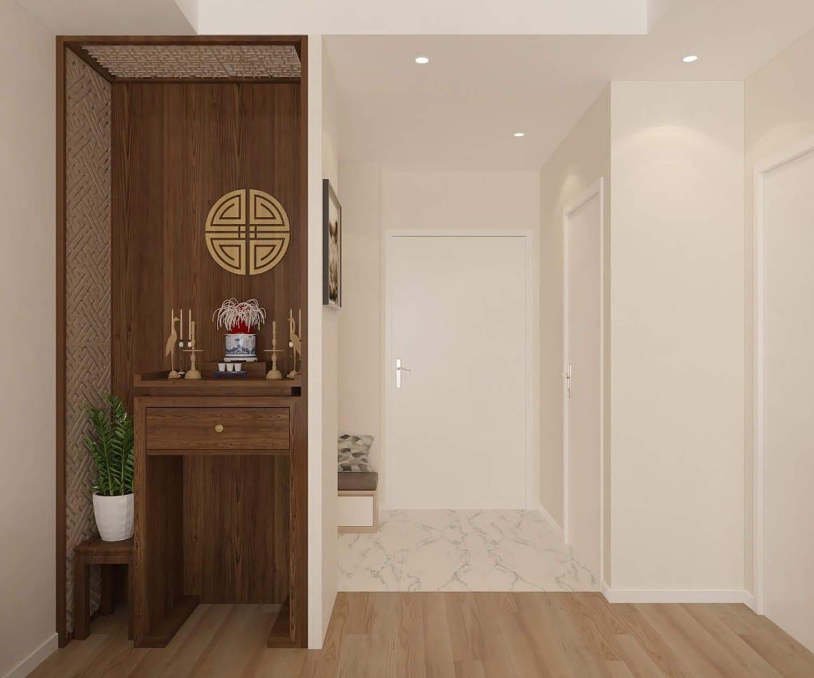 d Tìm hiểu về tủ thờ Phật trong thiết kế nội thất