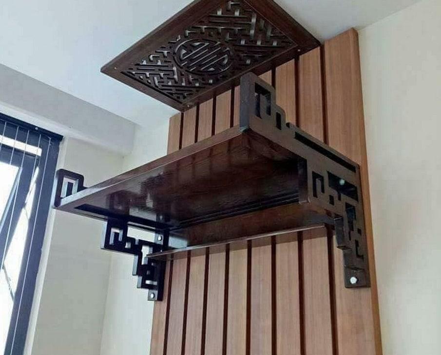 mau-ban-tho-dep-chuan-kich-thuoc-lo-ban03 Tổng hợp các mẫu bàn thờ treo tường chung cư