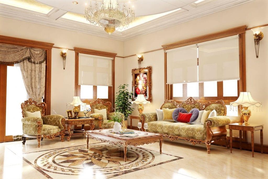 noi-that-tan-co-dien-1024x683 Hé mở bức màn về phong cách nội thất Tân Cổ Điển