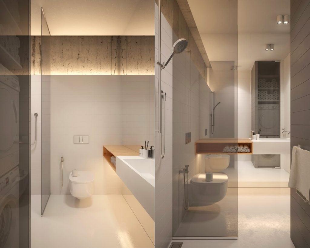 small-minimalist-bathrooms-1024x819 Thiết kế nhà vệ sinh nhỏ đẹp cần lưu ý những gì?