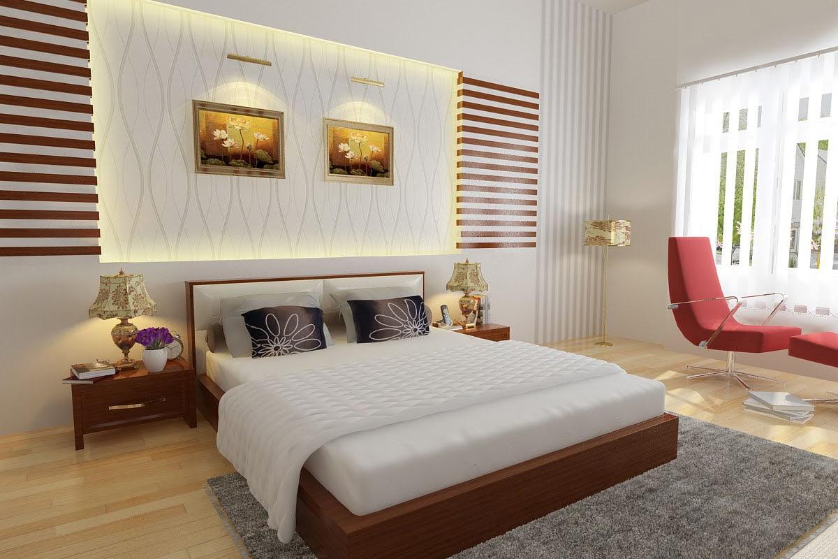 theo-phong-thuy-thi-co-nen-de-guong-trong-phong-ngu-4 Cách trang trí phòng ngủ tuyệt đẹp mà bạn cần biết