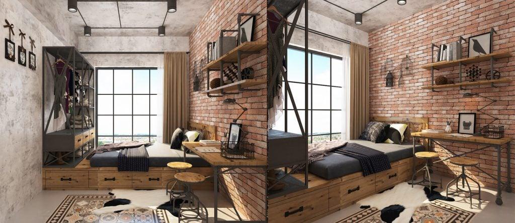 thiet-ke-noi-that-chung-cu-scenic-valley-15-1024x444 Thiết kế phòng làm việc tại nhà hợp phong thủy