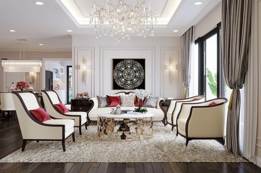 thiet-ke-noi-that-vinhomes-d-capitale-theo-phong-cach-luxury-1024x682 Hé mở bức màn về phong cách nội thất Tân Cổ Điển