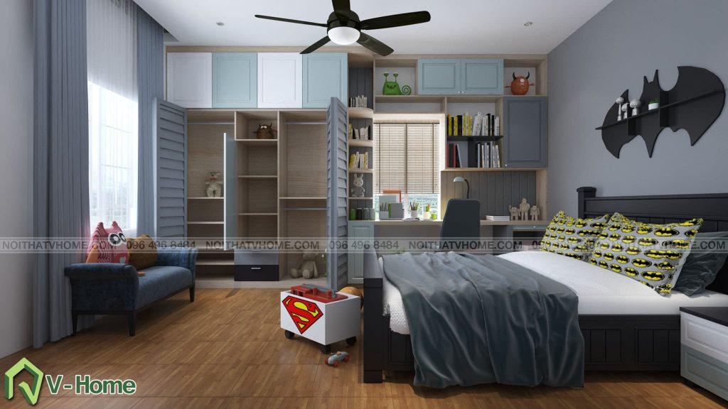thiet-ke-phong-ngu-be-trai-2-1024x576 Thiết kế nội thất phòng ngủ bé trai