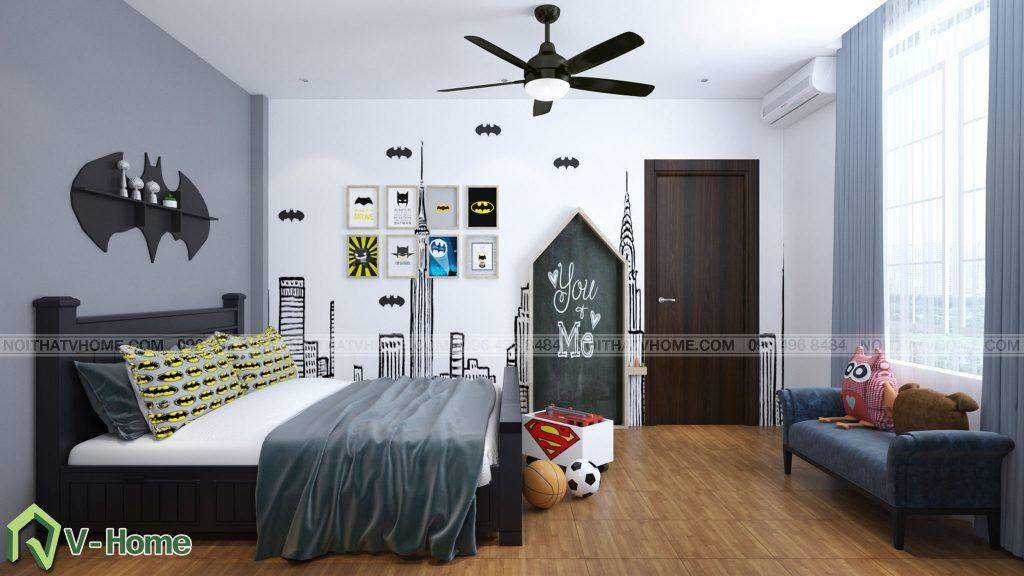 thiet-ke-phong-ngu-be-trai-3-1024x576 Thiết kế nội thất phòng ngủ bé trai