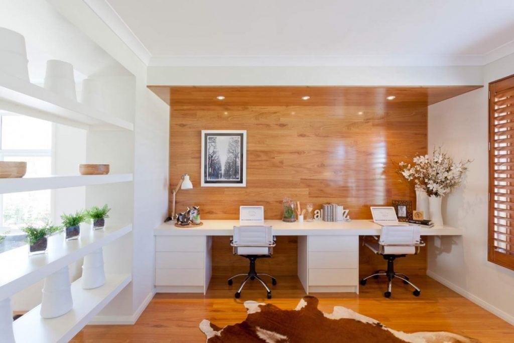 twin-home-office-desks-for-two-1024x683 [Tư vấn] Lựa chọn các mẫu bàn làm việc tại nhà