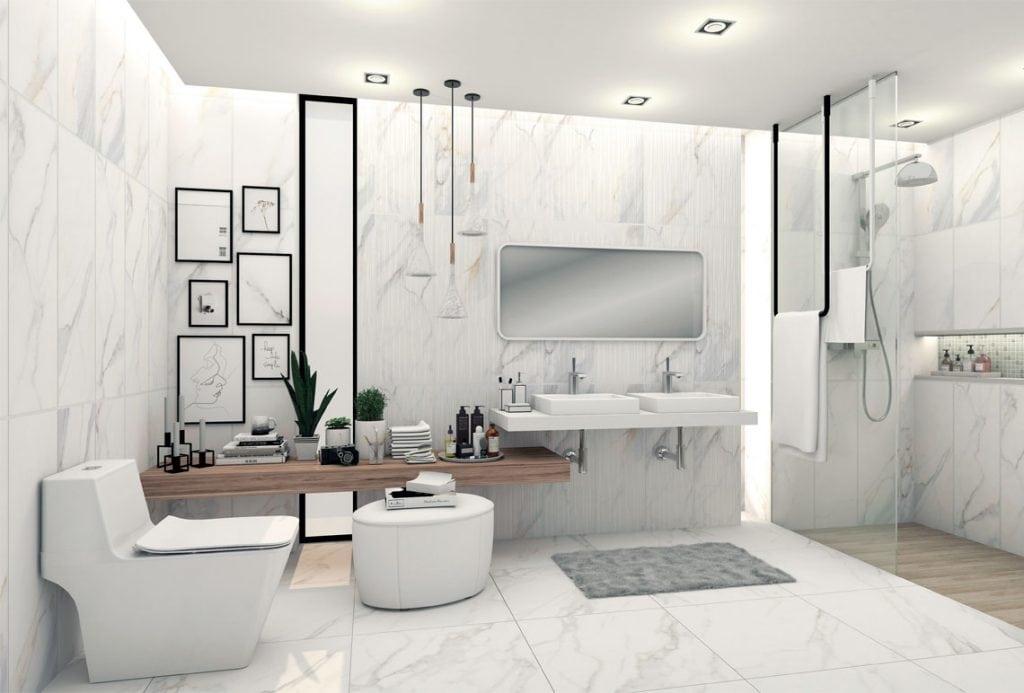 Modern-ห้องน้ำขนาดเล็ก-banner-1024x693 Cách lựa chọn gạch ốp nhà vệ sinh đẹp