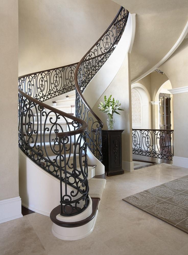 41_3 Mẫu cầu thang sắt hiện đại và những lưu ý khi thiết kế nội thất