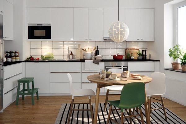 thiết kế nội thất bếp phòng ăn