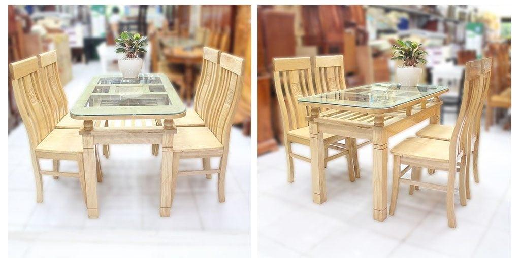 Ban-an-go-soi-nga-1024x509 Gỗ Sồi: Đặc trưng và ứng dụng của gỗ Sồi trong nội thất