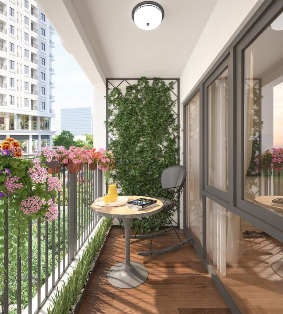 Ban-cong-927x1030-922x1024 [Kiến thức] Thiết kế ban công chung cư đẹp