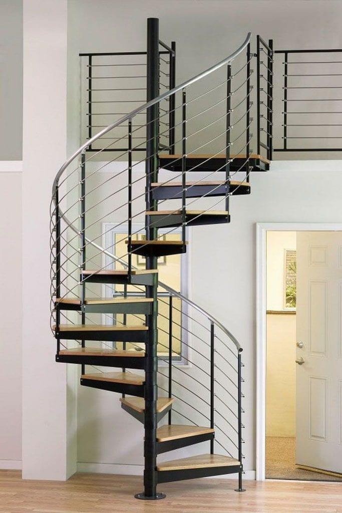 Stylish-Modern-Spiral-Staircase-Architecture-Designs-Ideas-09-683x1024 Mẫu cầu thang sắt hiện đại và những lưu ý khi thiết kế nội thất