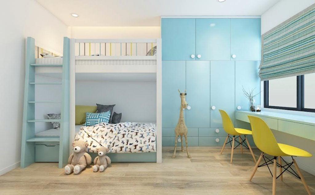 Thiết-kế-phòng-ngủ-đáng-yêu-cho-bé-1024x633 [Tư vấn] Thiết kế nội thất phòng ngủ đẹp