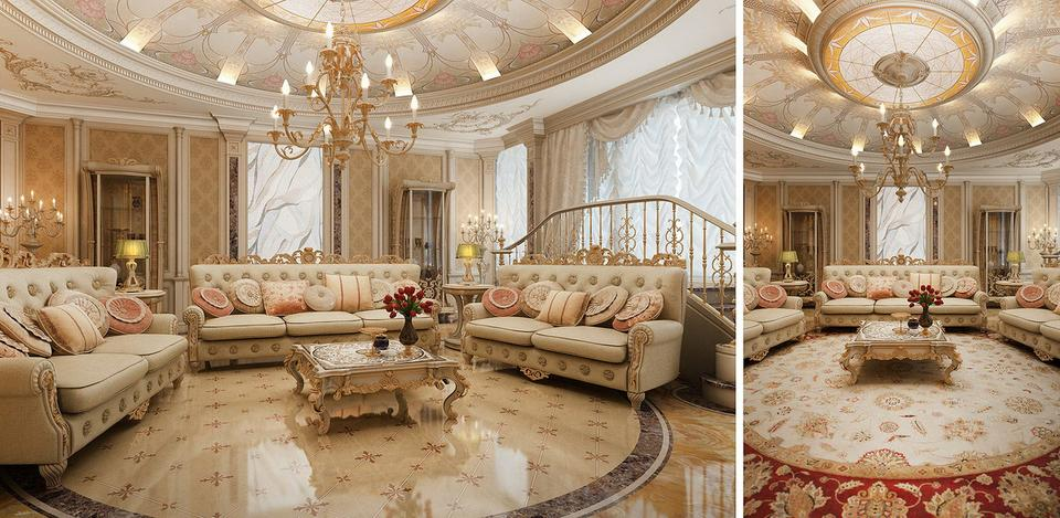 Thiet-ke-phong-khach-chung-cu-theo-phong-cach-co-dien [Kiến thức] Thiết kế nội thất cổ điển là gì?