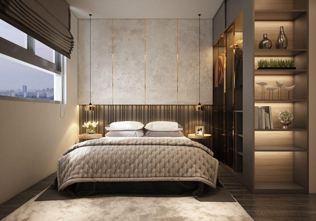 bedroom-pendant-lights-1024x717 [Tư vấn] Thiết kế nội thất phòng ngủ đẹp